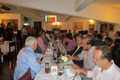 Jantar entre diretoria da APAS e da Portuguesa