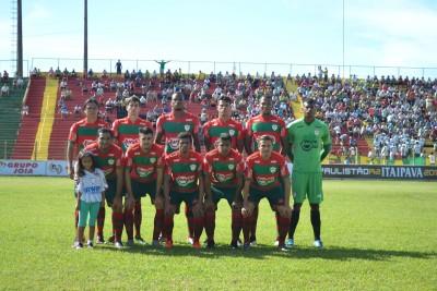Equipe titular da Portuguesa