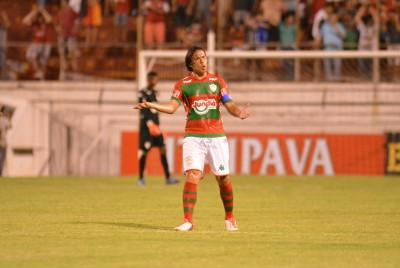 Capitão Renan durante a partida