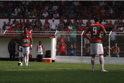 Portuguesa fica no empate contra o Marília
