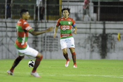 Portuguesa realiza último treino antes de jogo diante do Votuporanguense