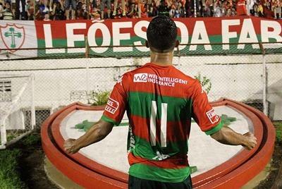 Portuguesa realiza último treino antes da estreia na Copa do Brasil